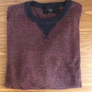 J. Crew Stripped Pullover Sweater Size XL